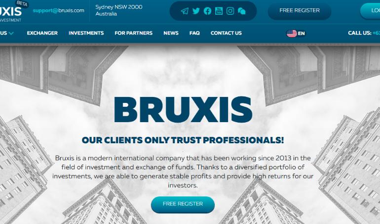 Обзор брокера Bruxis – современная международная компания или опасный мошенник?