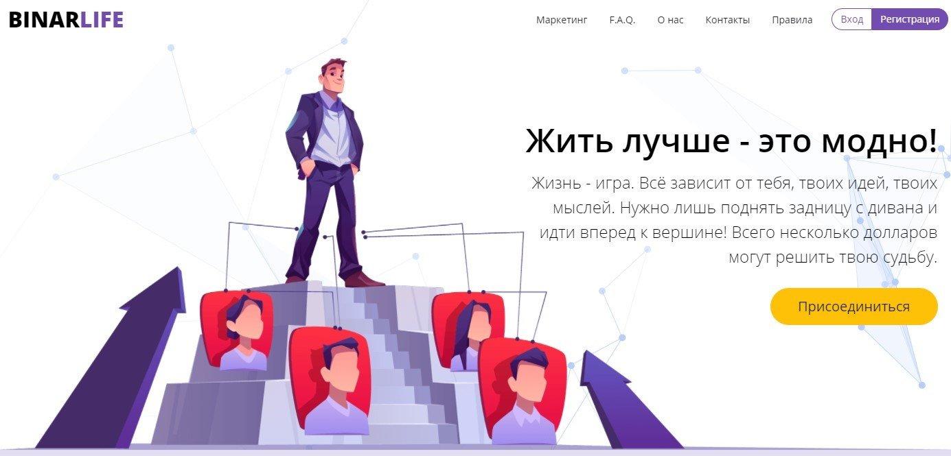 Обзор проекта Binar Life